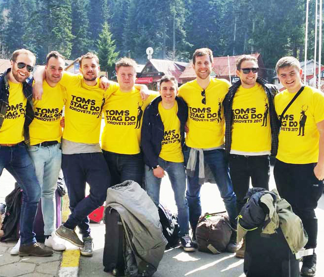 stag party packages for borovets