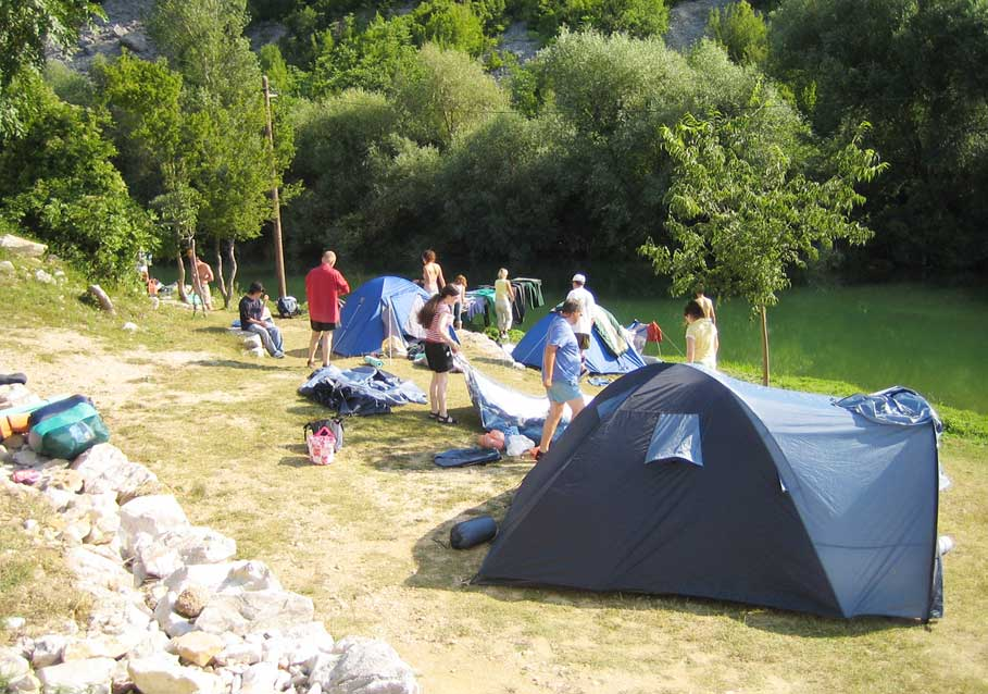Hiking and camping in the Rila Mountains