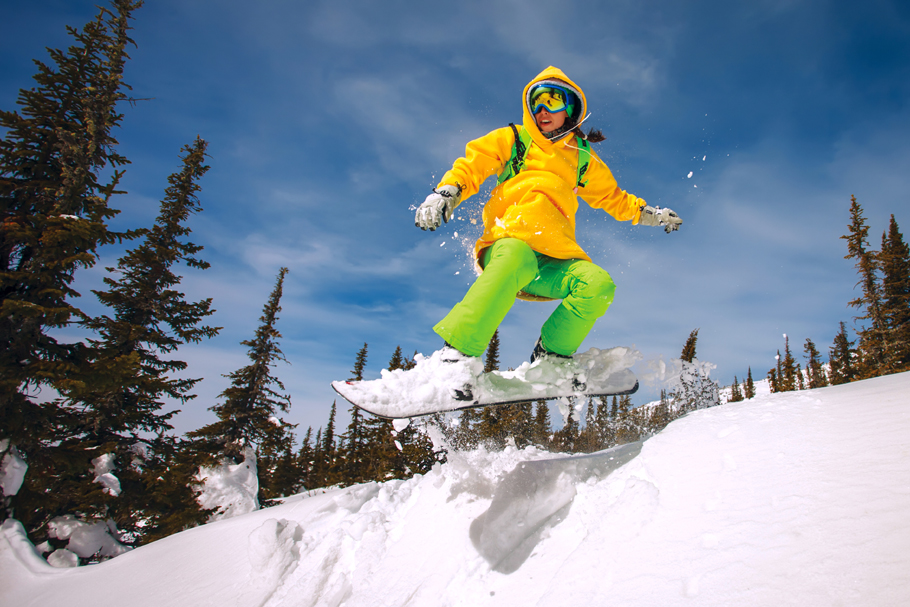 snowboarding in Borovets