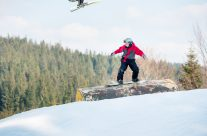 Snowboarding stag do in Borovets