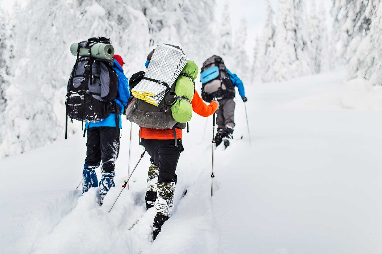 Off piste skiing in Borovets