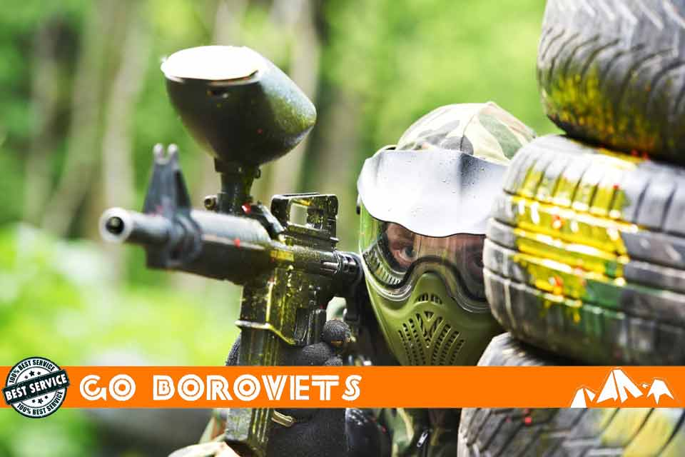 Paintballing stag weekends Borovets